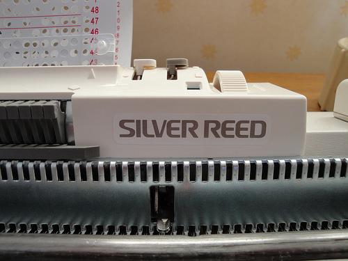 Silver Reed Knitting Machine